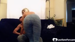 Spitting and sucking his dick like he likes it