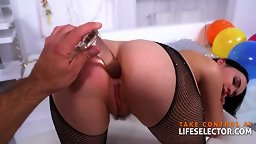 New Year's Resolution Leads To POV Anal Dickride - HD